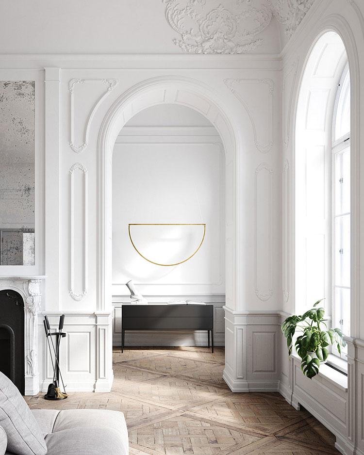 Neoclassical style furniture n.03