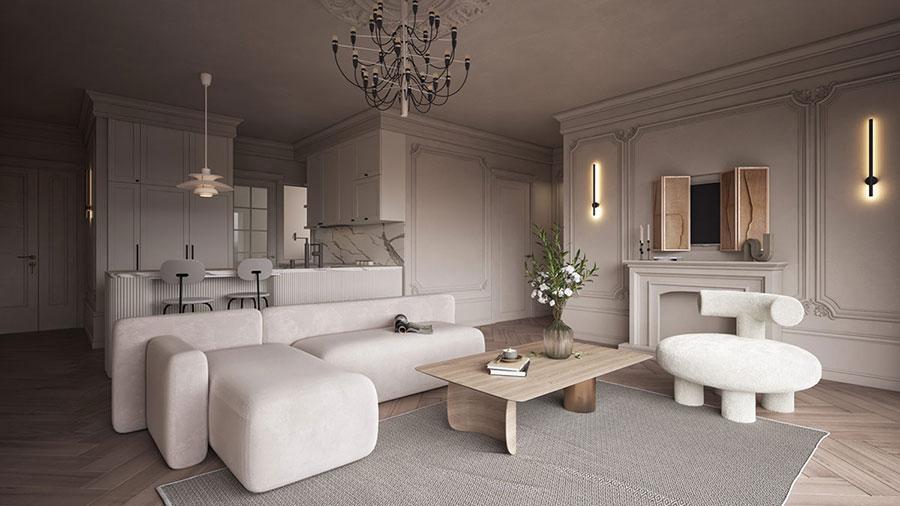 Neoclassical style furniture n.14