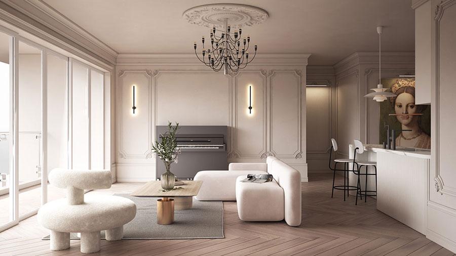 Neoclassical style furniture n.13