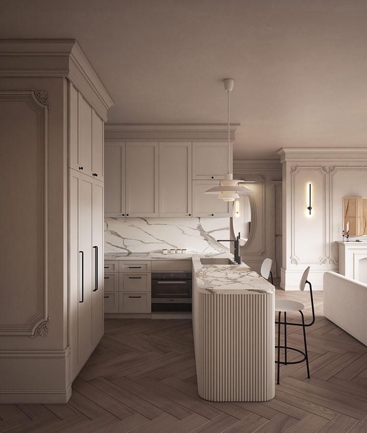 Neoclassical style furniture n.17