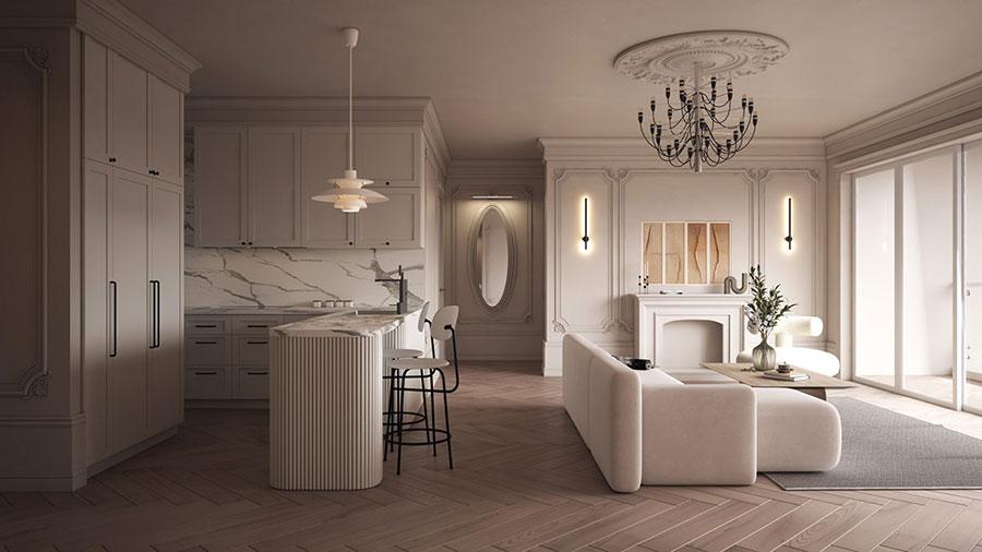 Neoclassical style furniture n.16
