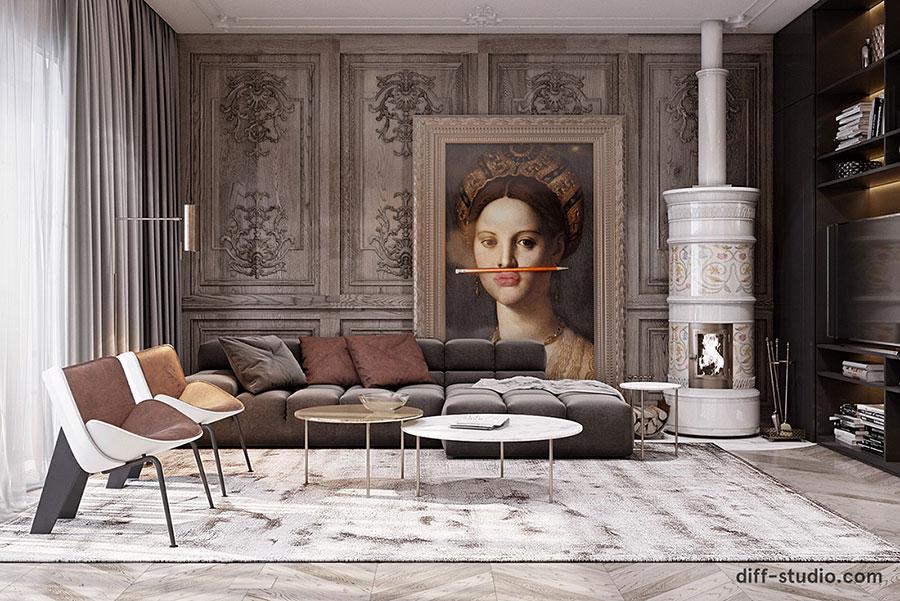 Neoclassical style furniture n.27