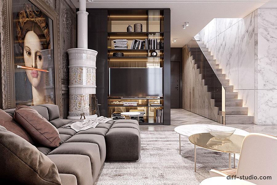 Neoclassical style furniture n.28