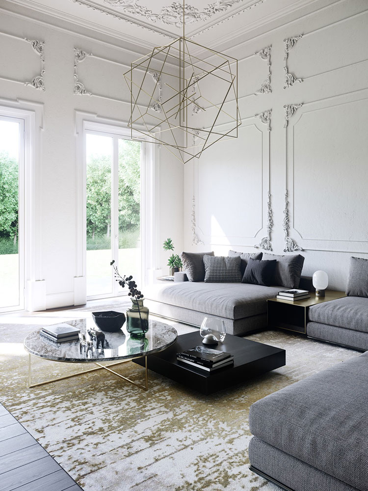 Neoclassical style furniture n.36