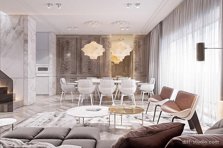 Neoclassical style furniture n.30