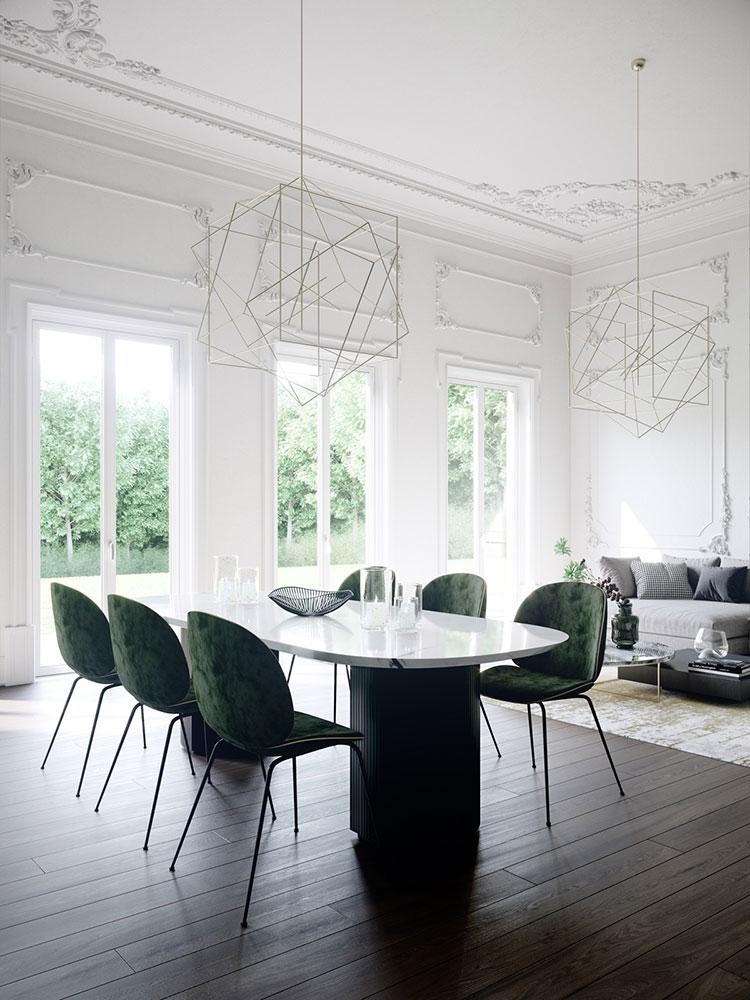 Neoclassical style furniture n.37