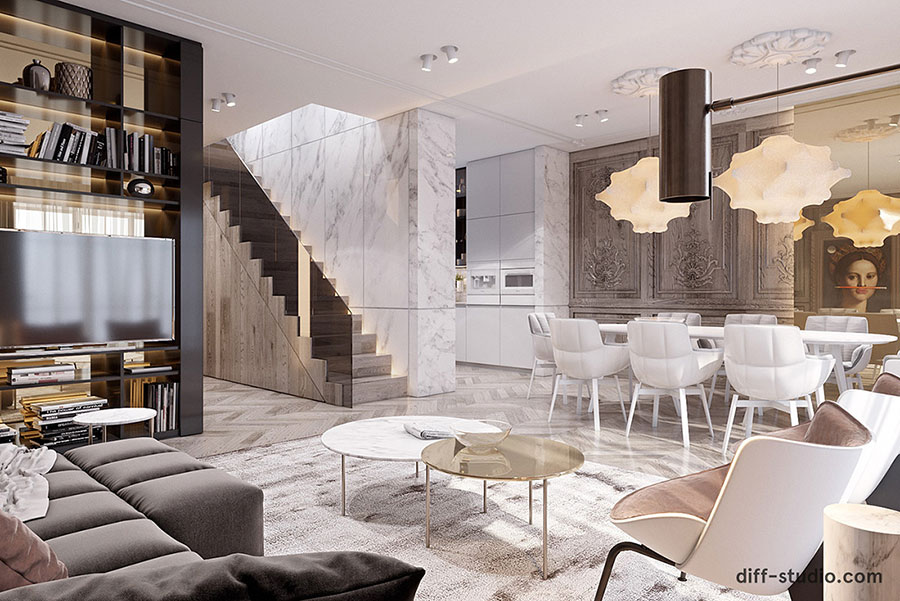 Neoclassical style furniture n.29