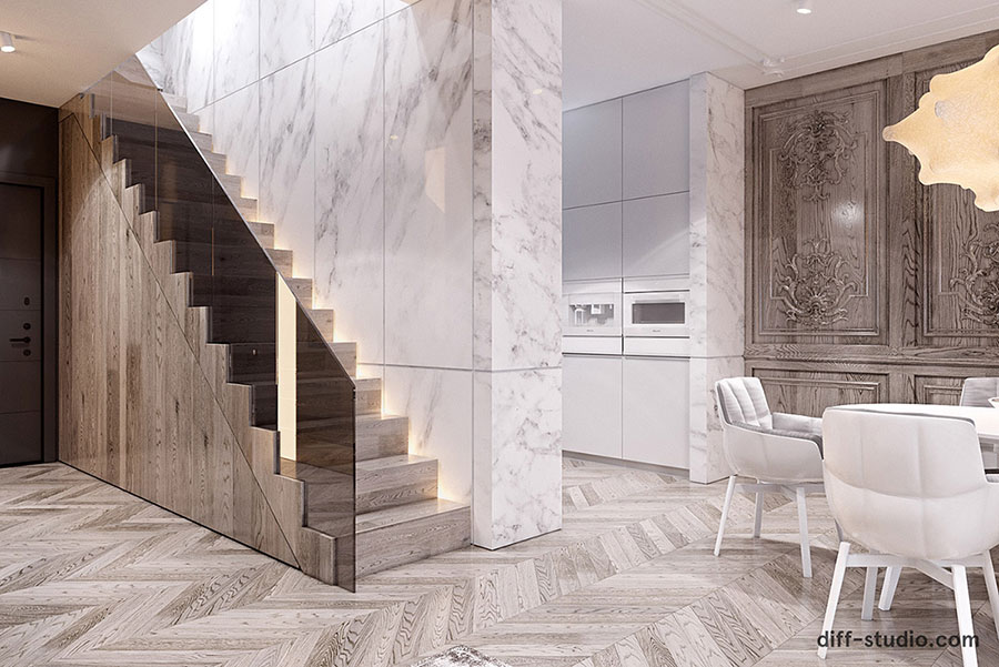 Neoclassical style furniture n.32