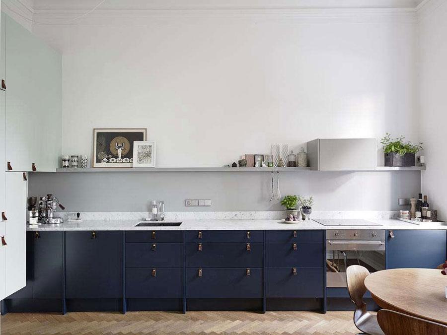 Blue and white kitchen ideas n.03