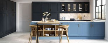 Idee cucina blu