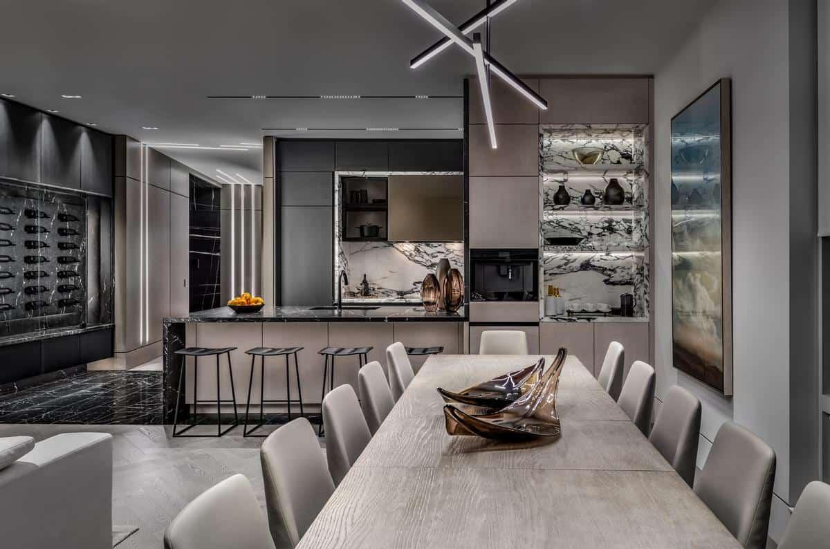 High-tech dining room ideas 2022