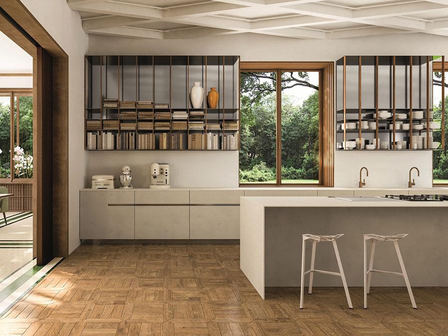 Modern Beige Kitchen Model # 01