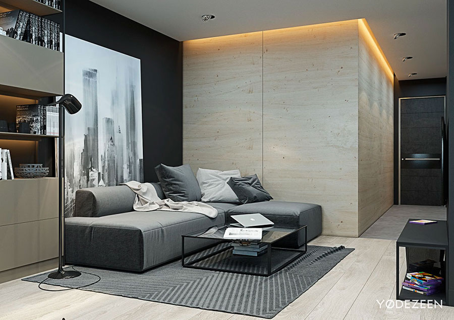 Design ideas for furnishing a small apartment n.01