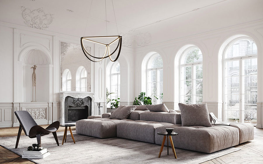 Neoclassical style furniture n.01