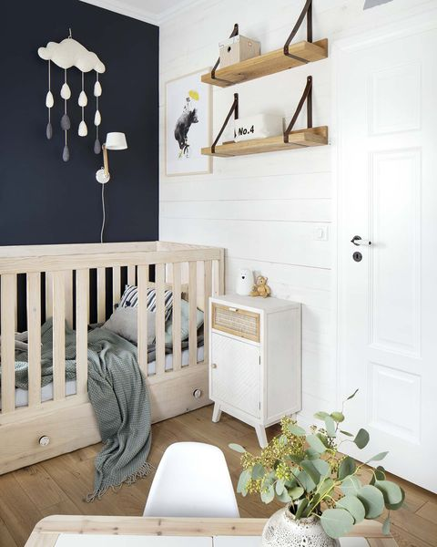 a nordic style country house the nursery