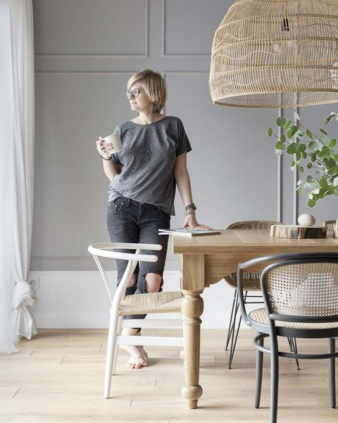 a Nordic style country house