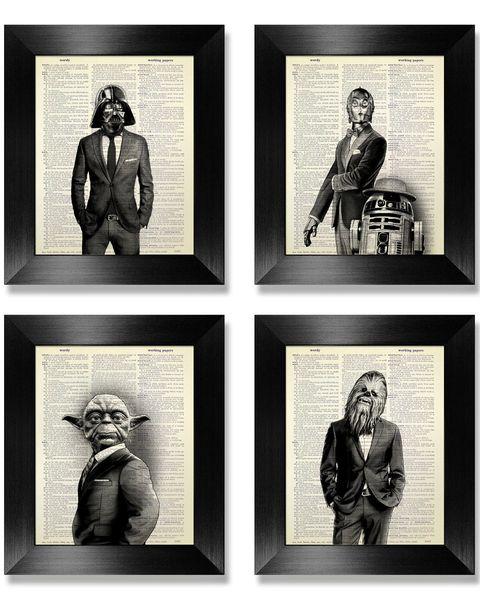 Illustrations from 'Star Wars'