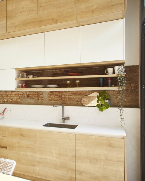 detached house project by laiaubia studio kitchen with dining room