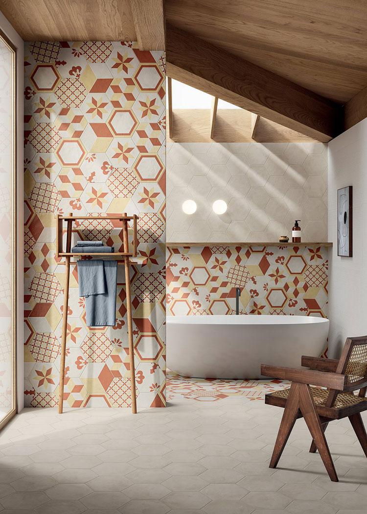 Modern vintage bathroom ideas n.02