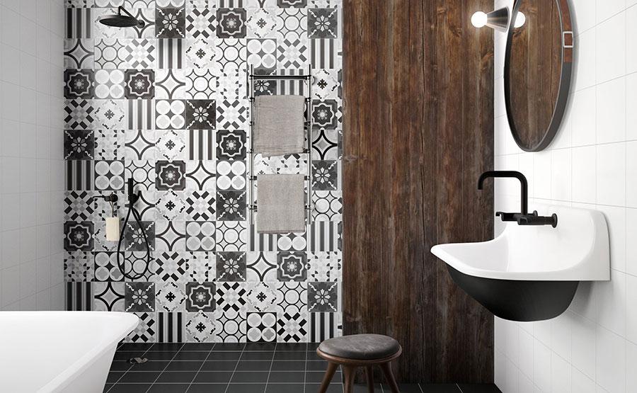 Ideas for decorating a vintage bathroom n.07