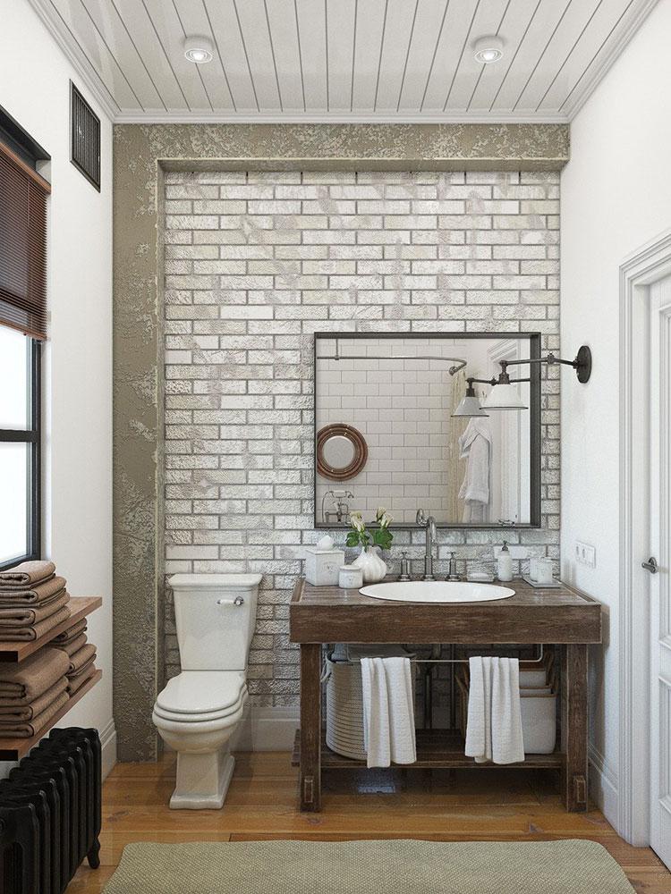 Ideas for decorating a vintage bathroom n.18