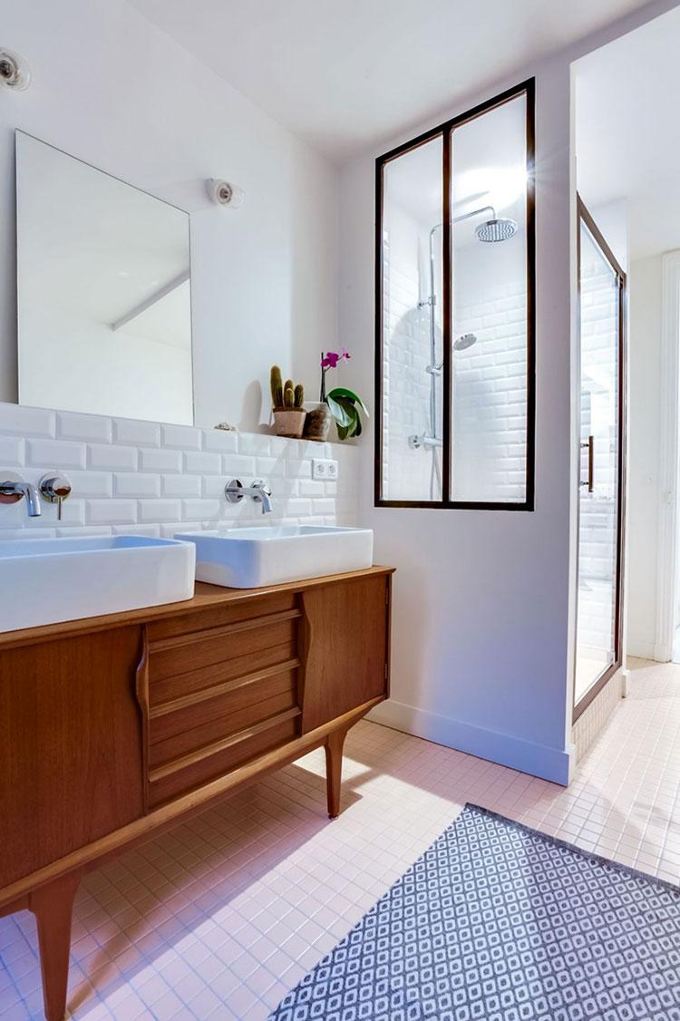 Ideas for decorating a vintage bathroom n.03