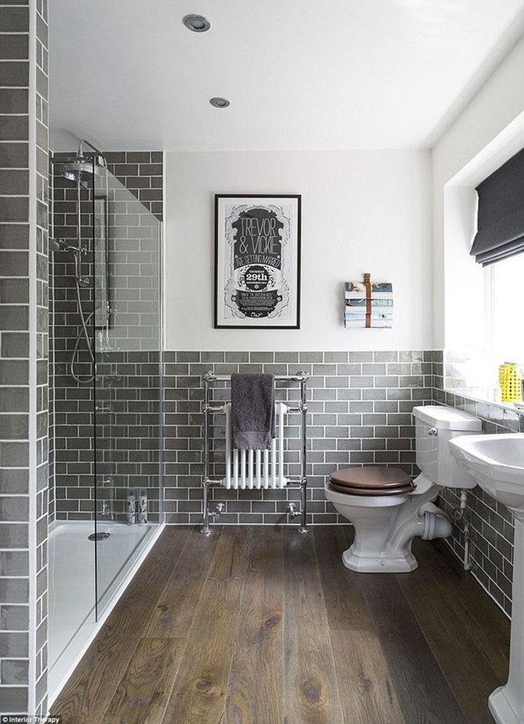 Ideas for decorating a vintage bathroom n.06
