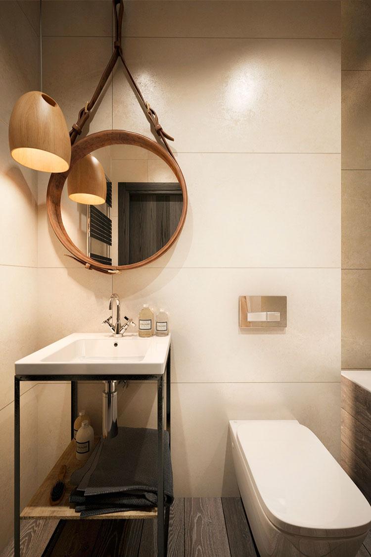 Ideas for decorating a vintage bathroom n.20