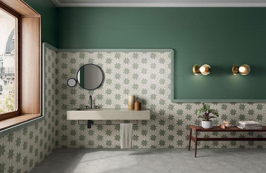 Modern vintage bathroom ideas n.01