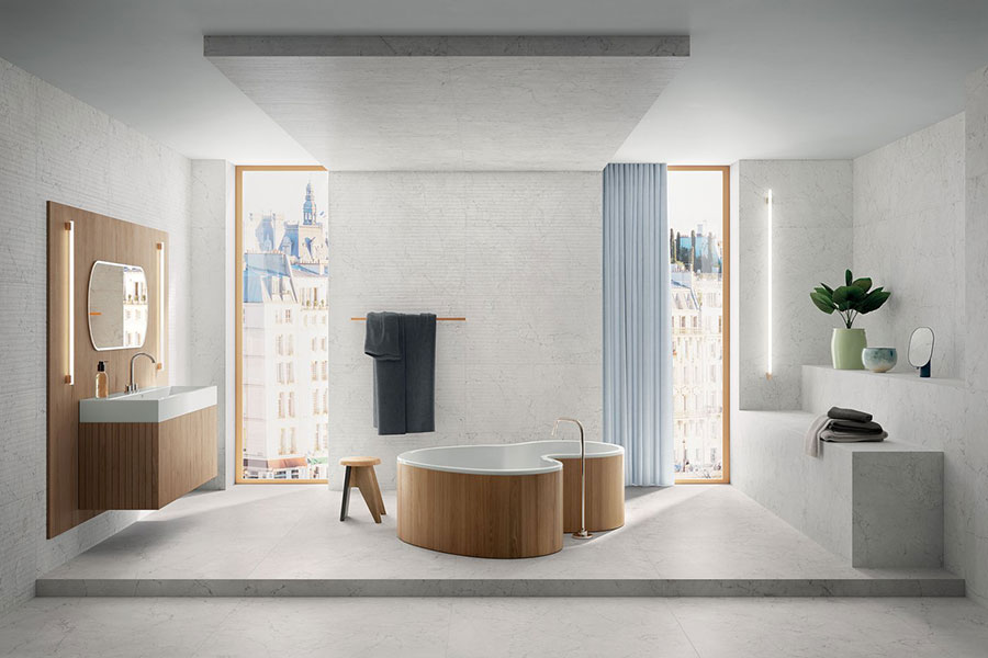 Modern vintage bathroom ideas n.03