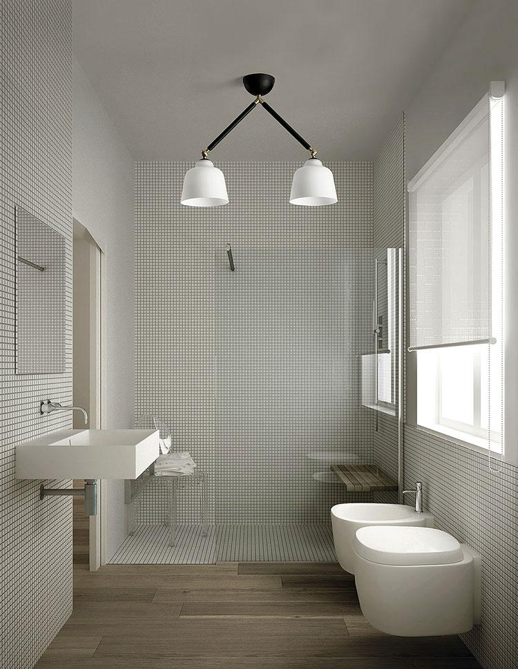 Vintage bathroom chandelier model n.01