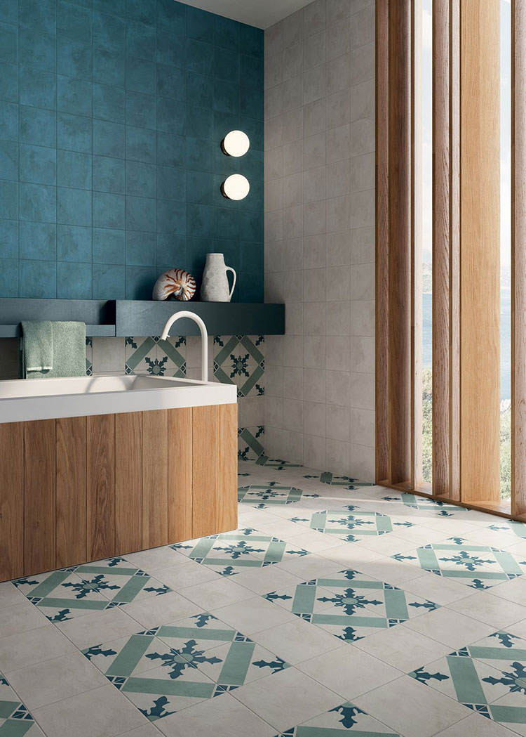 Modern vintage bathroom ideas n.05