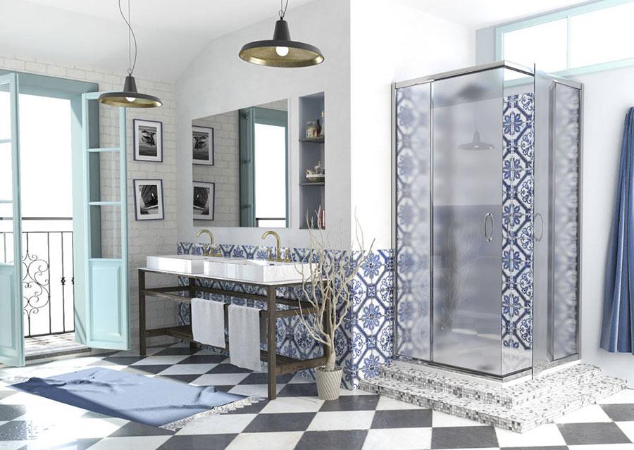 Ideas for decorating a vintage bathroom n.01